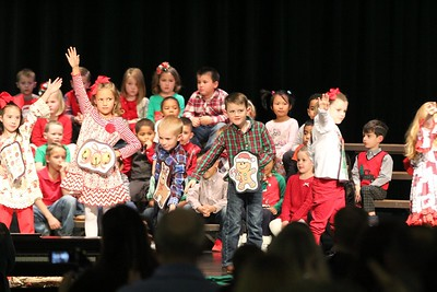 Kindergarten Christmas Performance, 12/4/2018