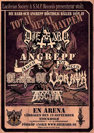 DIE HARD – En Arena 19/9 2015
