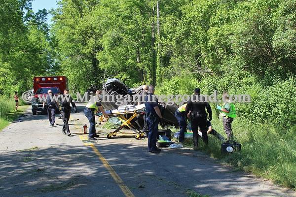 6/8/20 - Onondaga roll over crash, 2900 block S. Edgar