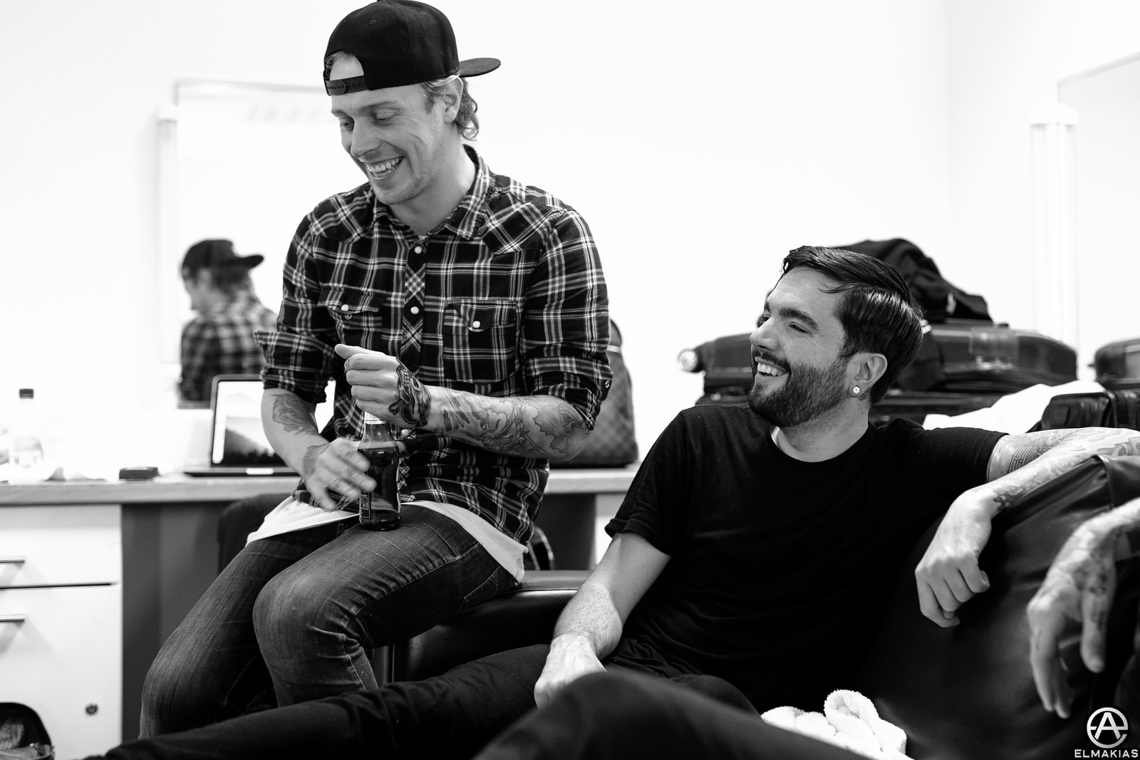Sam Carter of Architects and Jeremy McKinnon