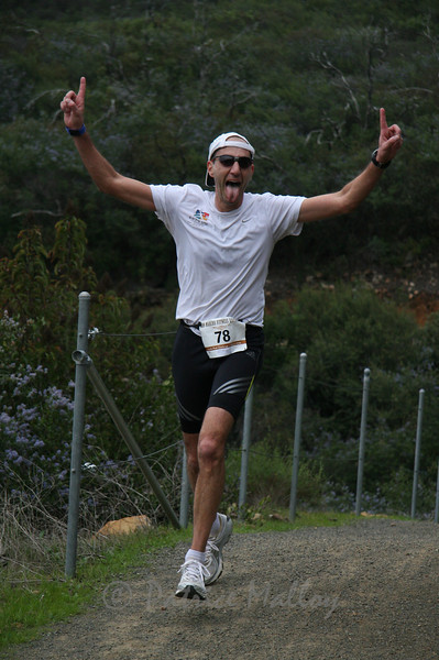 Nir Nimrodi, 41, San Marcos, 2nd in 40-44 age group, 54:45 (19th overall)