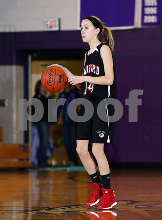 2014 Bradford Girls JV Basketball @ Coudersport