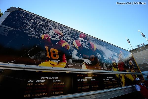 USC Football v Stanford 2012