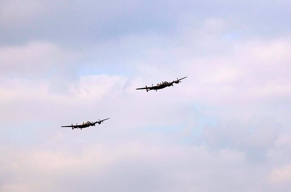 Lancasters at Ladybower - 21st September 2014