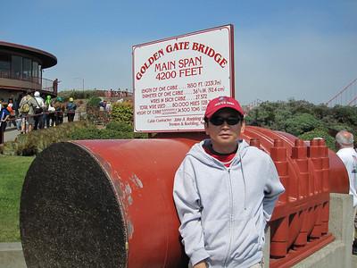 August 09: The Golden Gate Bridge and Baker Beach