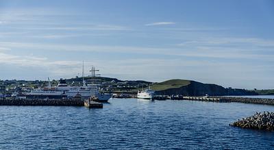 Le port de Cap-aux-Meules