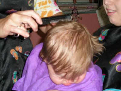Leah's First Haircut
