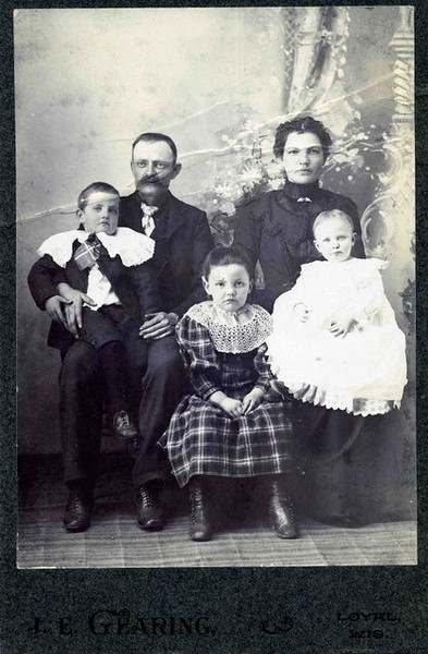 George and Lillian (Allen) Walls Family