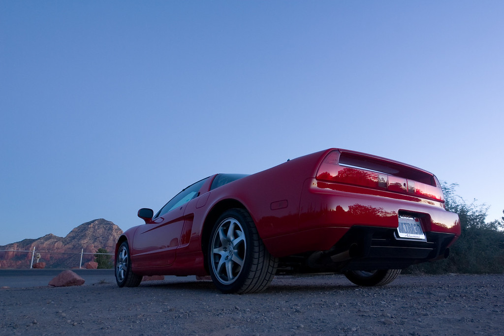 My best pre-dawn shot of my NSX