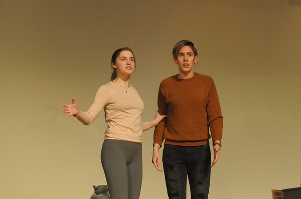 "Souderton High School students rehearse for production of ""Bye Bye Birdie"""