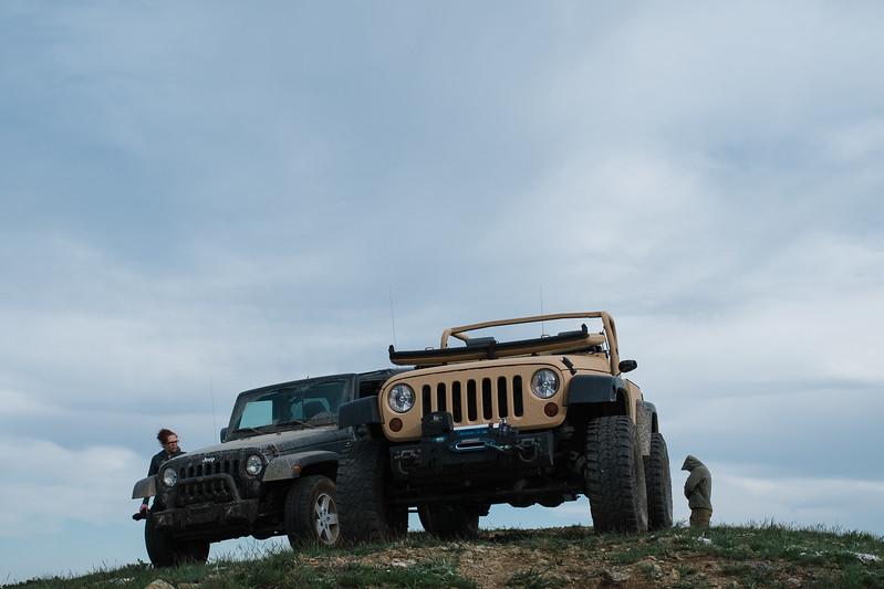 Jeeps on Chumstick
