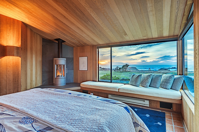 Master Bedroom with White Water Views of Shell Beach