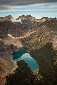 Taylor Lake, Banff National Park, Alberta, Canada.