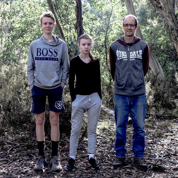 Marcus, Catherine & Stephen