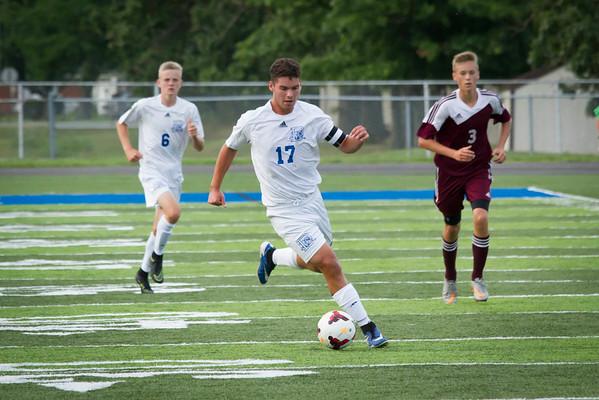 DHS Boys Soccer 08-26-2016