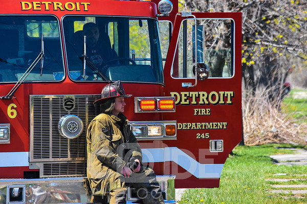 Vacant House Fire (4/23/16)