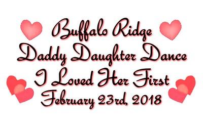 Buffalo Ridge Elementary Daddy Daughter Dance - February 23, 2018
