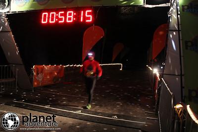 Nighttime Winter Trail Marathon