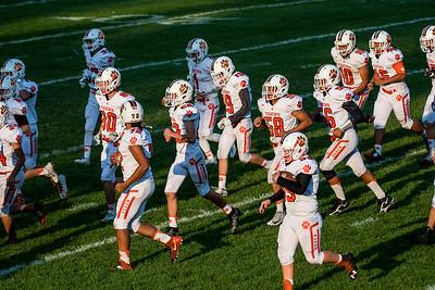 Ogden at Bonneville Football 9-15-17