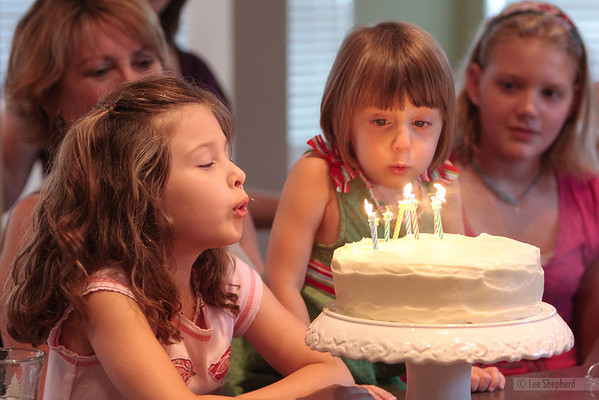 Madeline's 7th and Lizzie's 4th