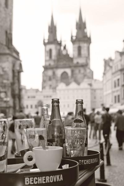 An afternoon in Prague