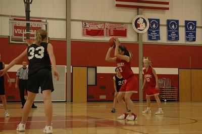Girls 7th Grade Basketball - 10/17/2005 Grant