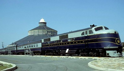 Maryland: Baltimore & Ohio RR Museum, 1979