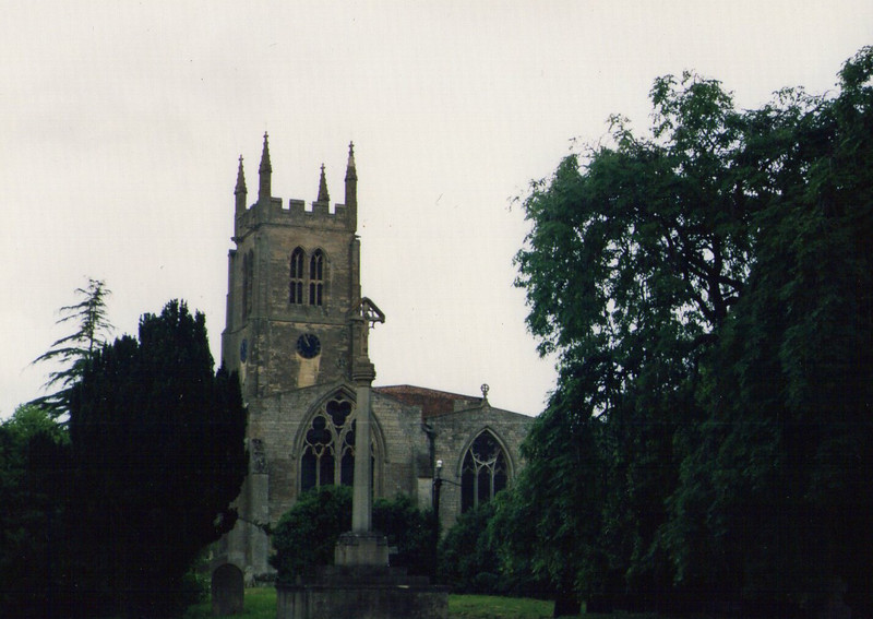 St Andrews Rippingale Circa 1982