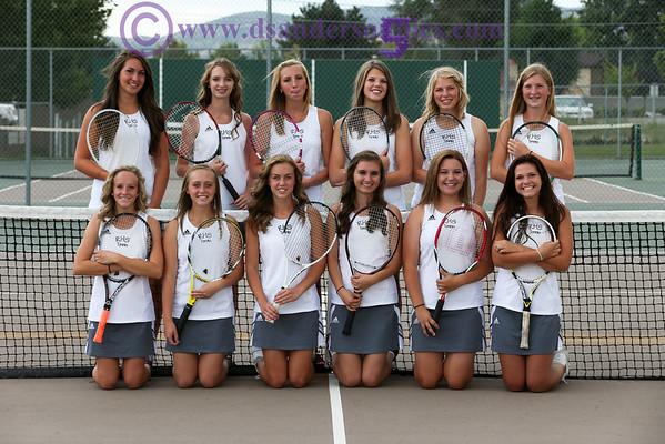 2013 RHS GIRLS TENNIS