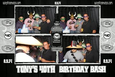 Tony's 40th Birthday