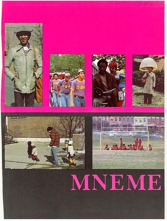 Rutgers Camden 1975 Yearbook Mneme