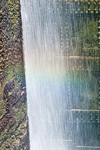 Canal Doors With Rainbow