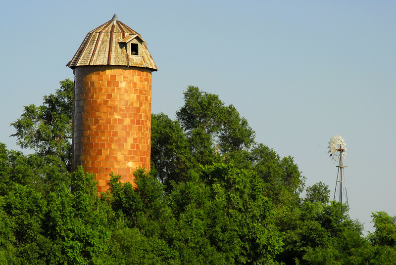 Old Silo & Windmill
