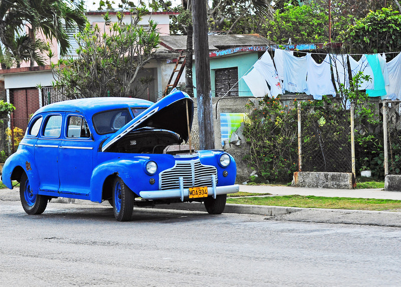 Reminder of the 50's - Cuba