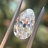 2.13ct Antique Pear Shape Diamond, GIA I, VS2 0