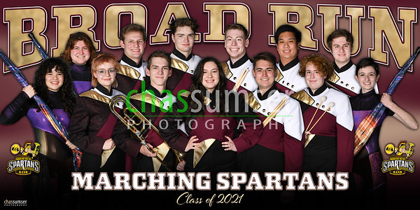 2021 Broad Run Marching Spartans