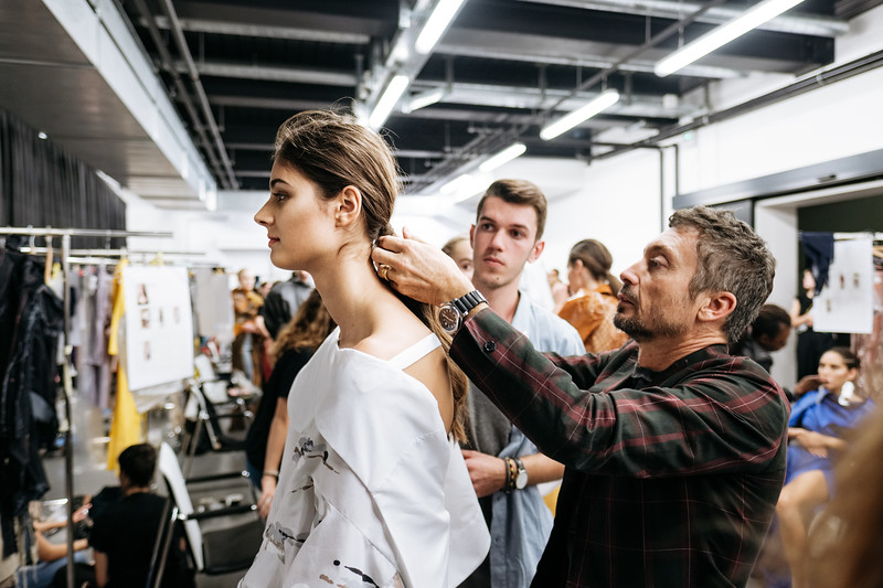 Backstage défilé HEAD Geneva 2017
