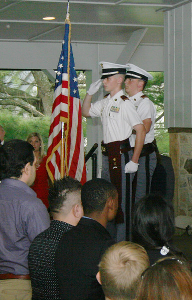 Fishburne Military School Color Guard