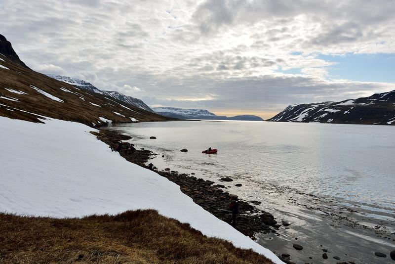 Horft út Jökulfirði