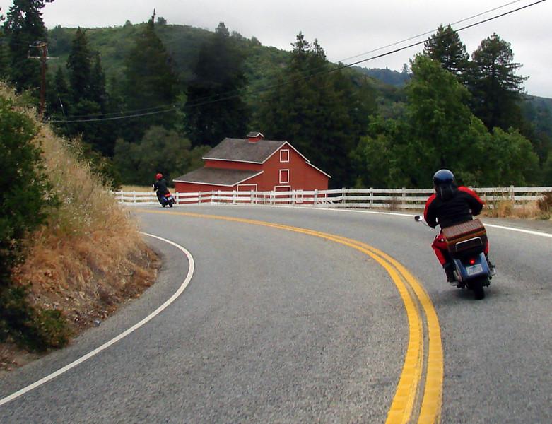 Highway 84 toward Pescadero