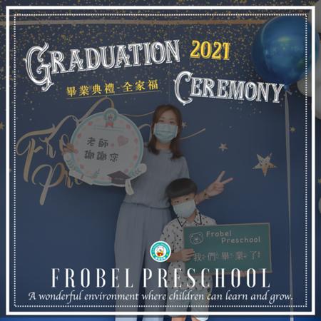 [2021] 畢業典禮全家福照-Graduation Ceremony