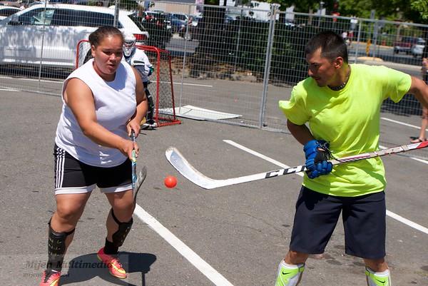 07-01-17 Canada Day - Mixed 4 on 4 Ball Hockey Tournament