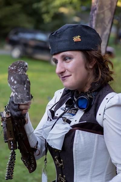 Sky Captain Hawke meets Sky Captain Owl