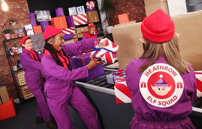 2/12/19 - Heathrow today unveils Santa's workshop is underneath Terminals 2 and 5