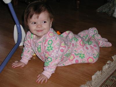 Jennifer at Grandmas 10/2007