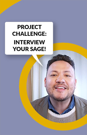 THE INTERVIEW YOUR SAGE PROJECT CHALLENGE