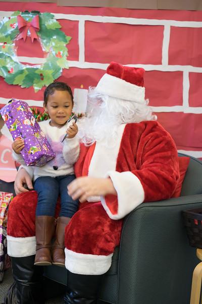 Belle Haven Child Development Center: Santa's Visit