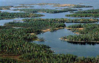 Lappi, maisema   Lapplandsvyer   Landscape in Lapland