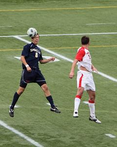 POUGHKEEPSIE, NY - SEPTEMBER 26: Marist Mens Soccer verses La Salle at Marist College on September 26, 2010 in Poughkeepsie New York.   Photo by Sandy Tambone