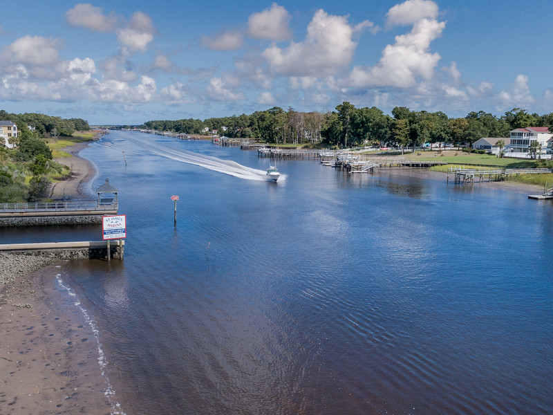 Intracoastal Waterway- St. James, NC